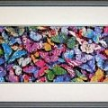#Motylki #motyle #HaftKrzyżykowy #rękodzieło #RobótkiRęczne #obrazek