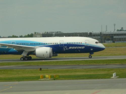 Boeing 787 Dreamliner na ziemi #Andaluzja