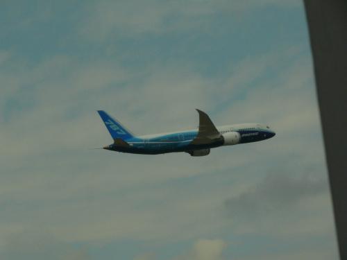 Boeing 787 Dreamliner w powietrzu #Andaluzja