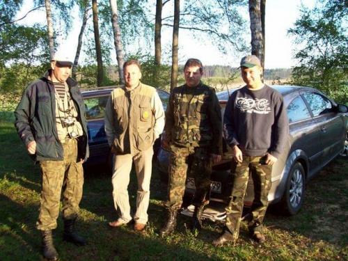 Drużyna SSR: Krzysztof, Ryszard, Roman i Sebastian.