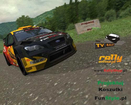 #ford #focus #wrc #rally #rajdy #virtual #team #virtualrallyteam #wrsmp #rbr #game #gry #richard #burns