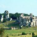 Zamek w Ogrodzieńcu. Widok z Góry Birów. #ogrodzieniec