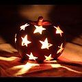#jabłko #świeczka #świecznik #gwiazdy #gwiazdki #światło