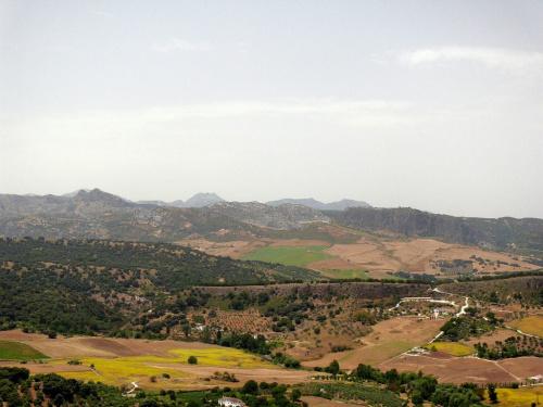 Ronda jest położona wśród gór #Andaluzja