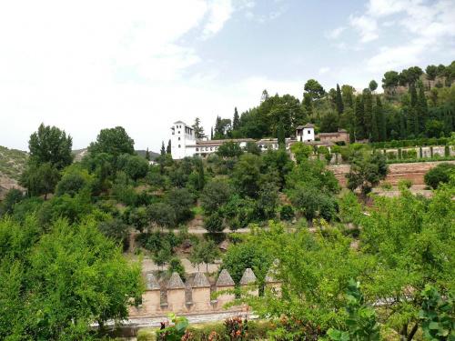 Generalife - jeden z najstarszych zachowanych ogrodów mauretańskich #Andaluzja
