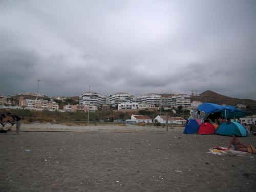 Plaża w Torrox nie przypadła nam do gustu #Andaluzja