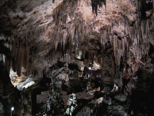 Jaskinia Cueva de Nerja - wnętrze #Andaluzja