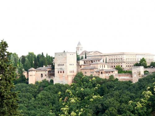 Alhambra - arcydzieło architektury arabskiej w Hiszpanii #Andaluzja