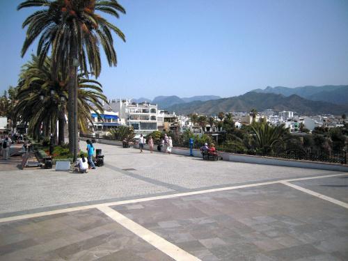 Nerja i okolice, widok z Balcón de Europa #Andaluzja