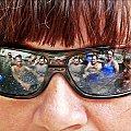 wakacje w kraterze wulkanu #ludzie #wakacje #odbicie