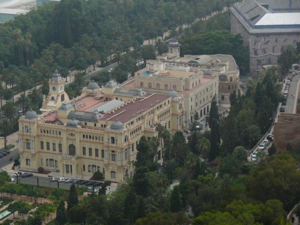 Malaga - Ratusz #Andaluzja