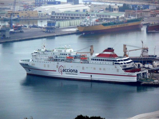 Malaga - port #Andaluzja