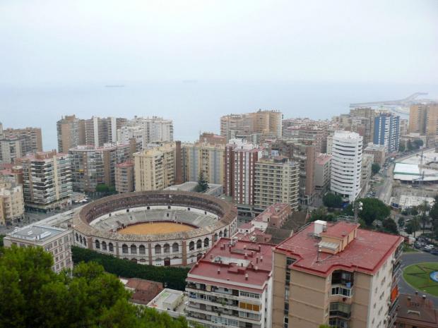 Malaga - arena korridy #Andaluzja