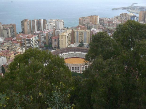 Malaga - Arena corridy #Andaluzja