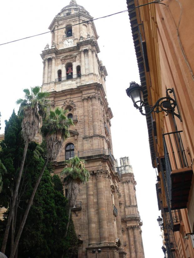 Malaga - Katedra, budowana z przerwami od 1528 do 1783, lecz nie ukończona #Andaluzja