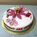 pszczółka Maja na 18 -te urodziny #PszczółkaMaja #maja #kwiaty #tort #torty