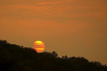 Zachodzi słoneczko #Zachód #słońce #lato