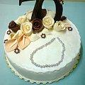 Tort dla Jubilatki 70 !!!!!!!Lat #Tort #rocznica
