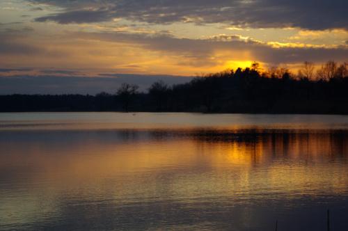 #niebo #zalew #ZachódSłońca