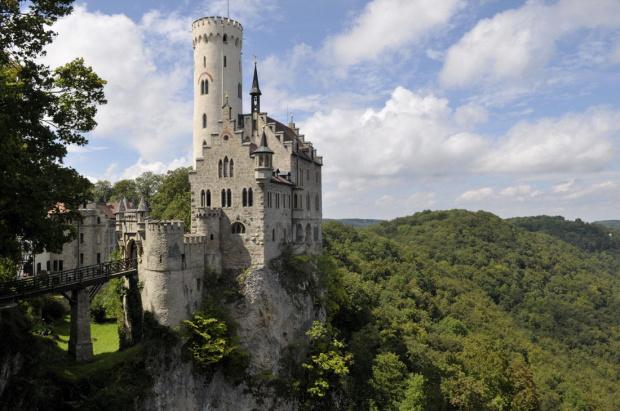 Zamek Lichtenstein (Niemcy) #Lichtenstein #zamek