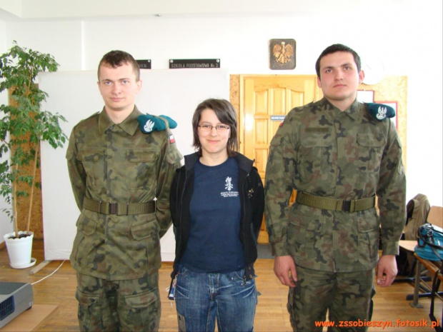 w poniedziałek 29 marca 2010 r. w ramach rekrutacji odwiedziliśmy gimnazjalistów z Leopoldowa i Dęblina #Sobieszyn #Brzozowa