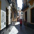 Sewilla - stara dzielnica żydowska Barrio de Santa Cruz #Andaluzja #Sewilla