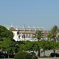 Sewilla - Plaza de Toros de la Maestranza (jedyna owalna arena korridy ) #Andaluzja #Sewilla