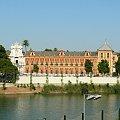 Sewilla - Palacio de San Telmo, dawna szkoła morska, obecnie siedziba seminarium duchownego #Andaluzja #Sewilla