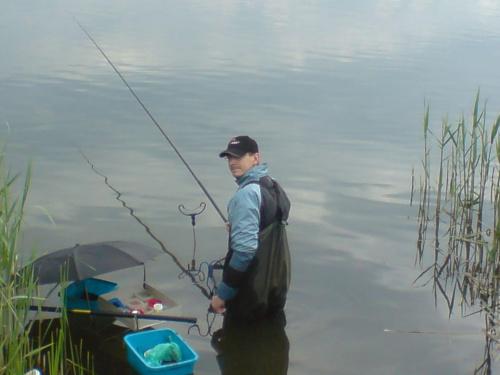 Łukasz - 3 miejsce #ryby #wędkarstwo #baszta #Buk #Niepruszewo