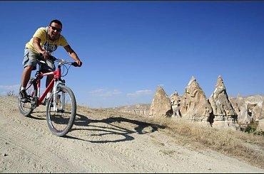 Rowerem po Kapadocji