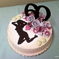 60 urodziny pana #sześćdziesiątka #urodziny #tort #laska #dziewczyna