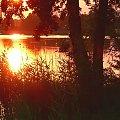 15.07.2005 Pasym nad jeziorem. #zachody