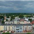 Moje miasto - Strzelce Opolskie. Widok z wieży ratuszowej. #StrzelceOpolskie