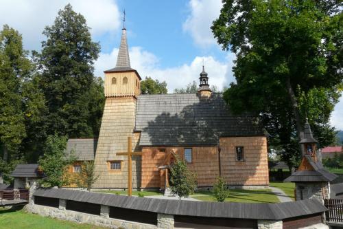 Łopuszna - kościół św. Trójcy i św. Antoniego Opata #Łopuszna #KościółDrewniany #SzlakArchitekturyDrewnianej