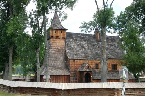Dębno - kościół św. Michała Archanioła #Dębno #KościółDrewniany #SzlakArchitekturyDrewnianej