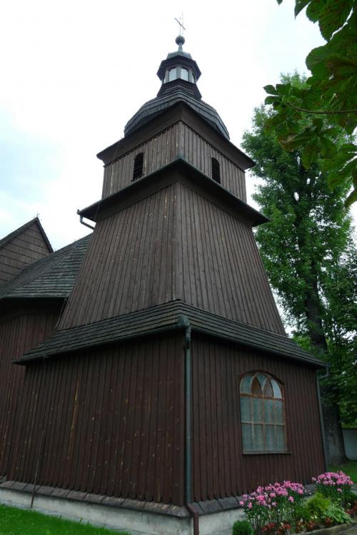 Barwałd Dolny - kościół św. Erazma #BarwałdDolny #KościółDrewniany #SzlakArchitekturyDrewnianej