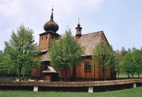 Babice - skansen Wygiełzów, kościół z Ryczowa #Babice #skansen #Wygiełzów #Ryczów