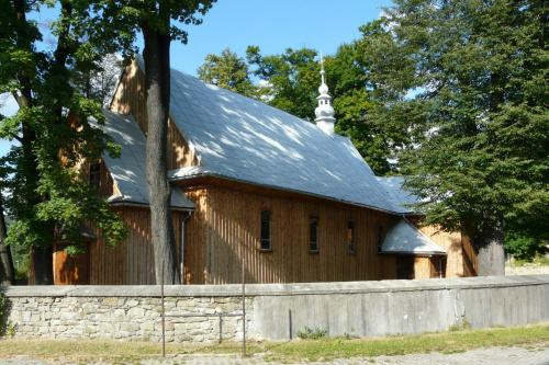 Tylmanowa - kościół św. Mikołaja #Tylmanowa #KościółDrewniany #SzlakArchitekturyDrewnianej