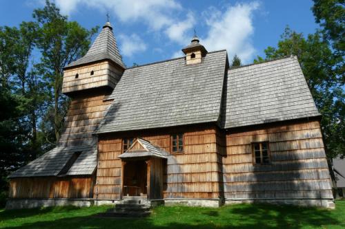 Grywałd - kościół św. Marcina #Grywałd #KościółDrewniany #SzlakArchitekturyDrewnianej