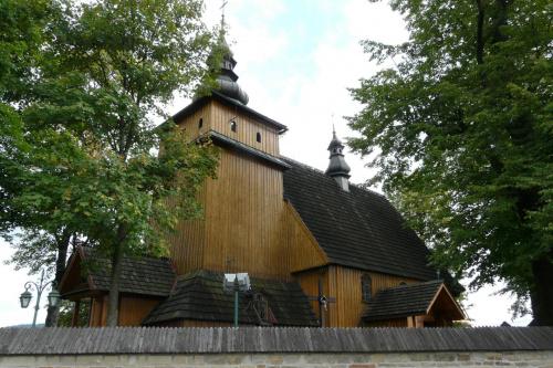 Krzeczów - kościół św. Wojciecha #Krzeczów #KościółDrewniany #SzlakArchitekturyDrewnianej