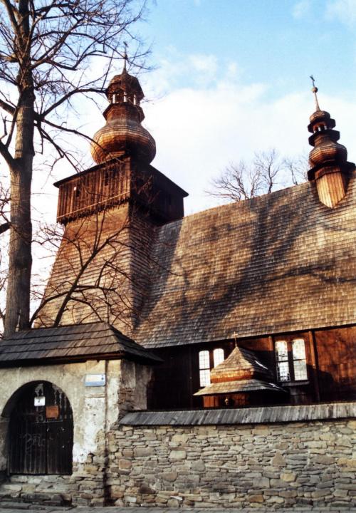 Rabka Zdrój - kościół św. Marii Magdaleny #RabkaZdrój #KościółDrewniany #SzlakArchitekturyDrewnianej
