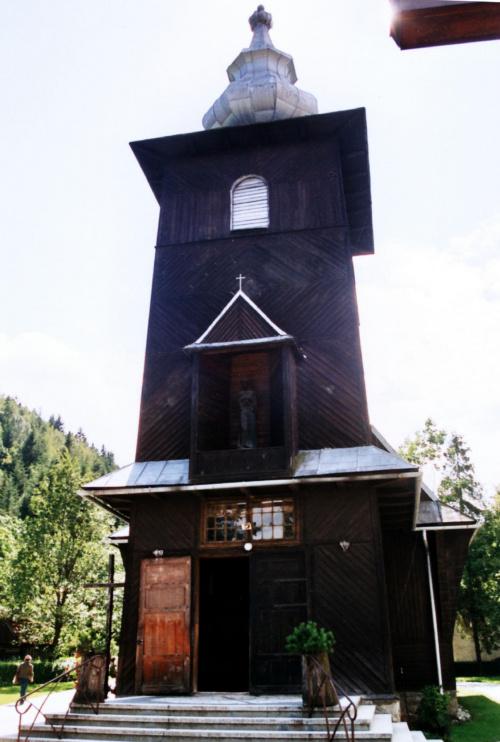 Szczawa - kościół pw. Najświętszego Serca Pana Jezusa #Szczawa #KościółDrewniany #SzlakArchitekturyDrewnianej