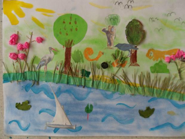 Mazury cud natury - prace plastyczne - Comenius 2010-12