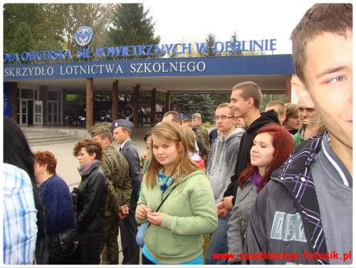30 września klasy wojskowe LO (I i II) odwiedziły Muzeum Lotnictwa Polskiego, a także uczestniczyły w uroczystej przysiędze w WSOSP w Dęblinie #Sobieszyn #Brzozowa #KlasaWojskowa