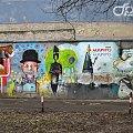 przedświąteczny czas i wietrzno- deszczowa pogoda sprzyja szperaniu w szufladzie; a z niej wygrzebałam lubskie graffiti :) #graffiti #Lubsko #ściana