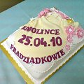 Tort dla Karolinki od Pradziadków #chrzciny #tort #kościół