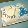 Tort dla Mateusza #Chrzciny #tort