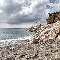 Hiszpania u zbiegu Benalmadena #piach #morze