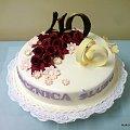 40 Rocznica Ślubu #Tort #wesele #rocznica