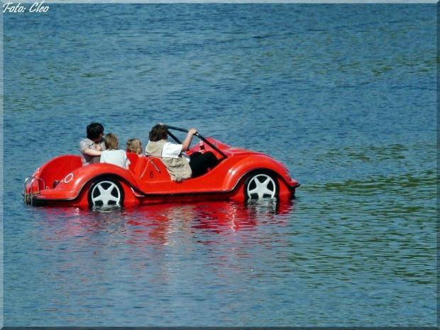 Po wodzie tez mozna....:)